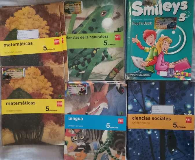 Imagen Vendo libros de texto de 5° de primaria en buen estado.
