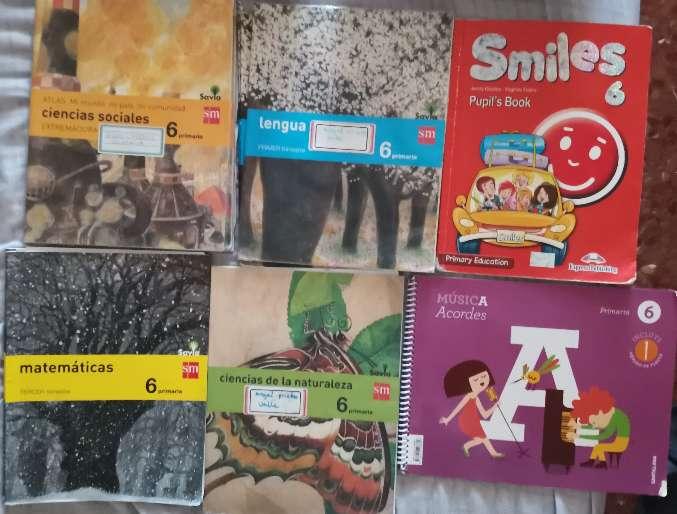 Imagen Vendo libros de texto de 6° de primaria en buen estado.