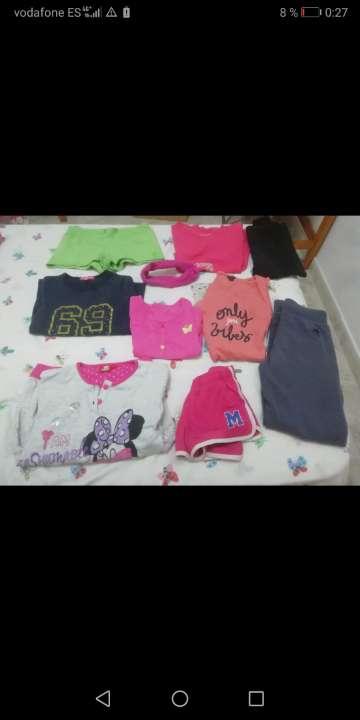 Imagen Lote de ropa de niña
