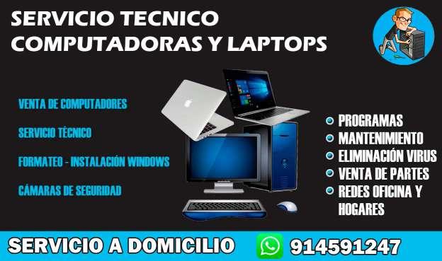 Imagen Servicio técnico de computadora y laptops