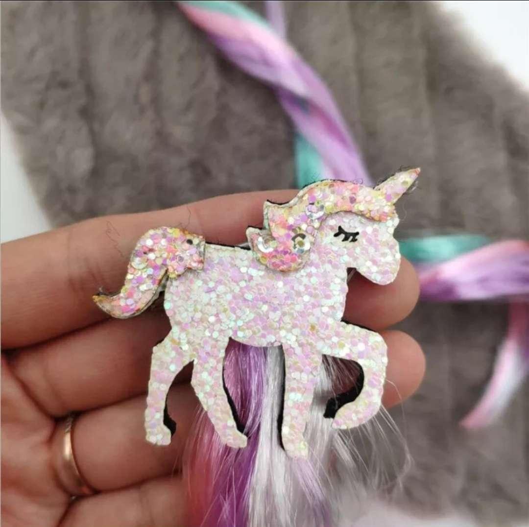 Imagen Pinza para el cabello Unicornio, 2 modelos
