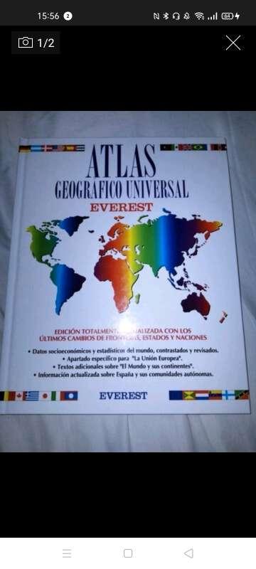 Imagen Atlas mundo