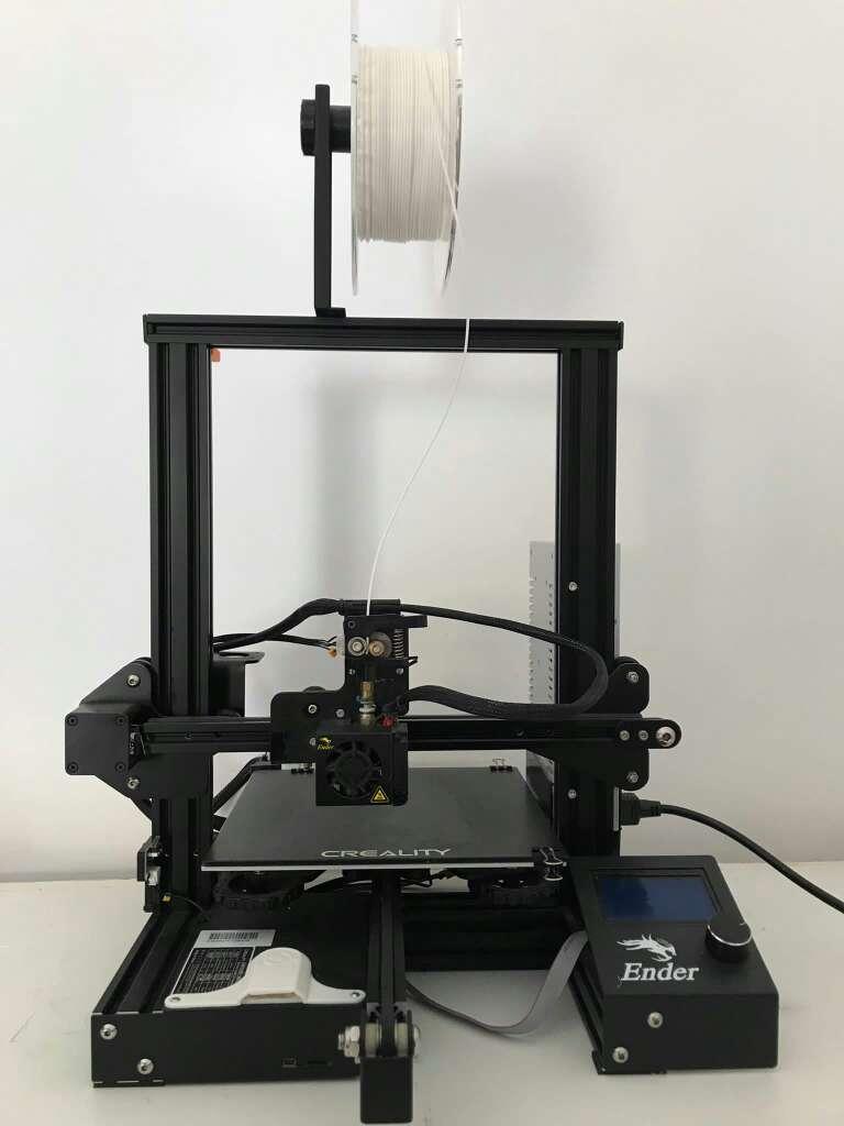 Imagen Impresora 3d Ender 3 + cama de cristal + material y boquillas