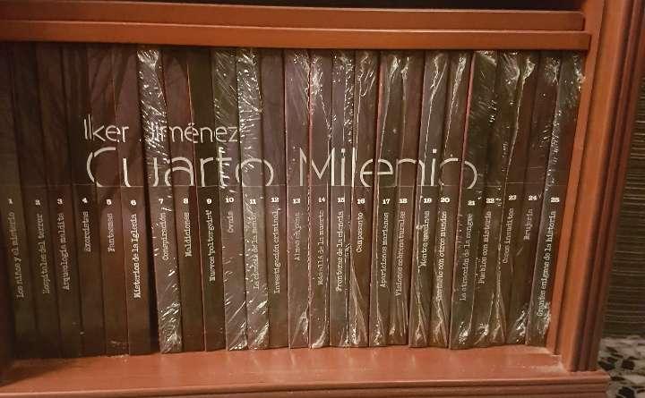 Imagen Colección El Cuarto Milenio (25 DVD).