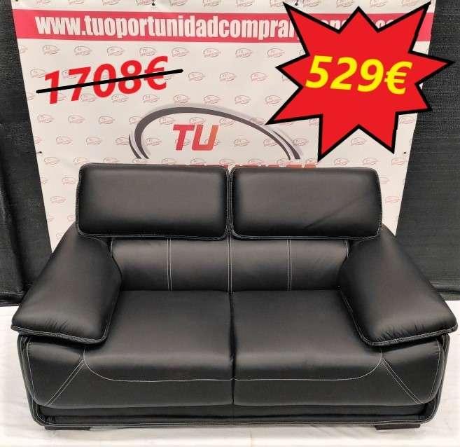 Imagen sofá de 2 y 3 plazas Marcelo piel natural