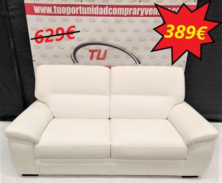 Imagen sofá 3 plazas blanco