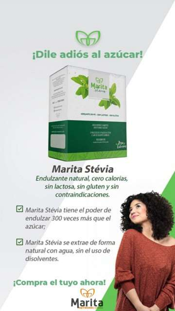 Imagen stevia endulzante