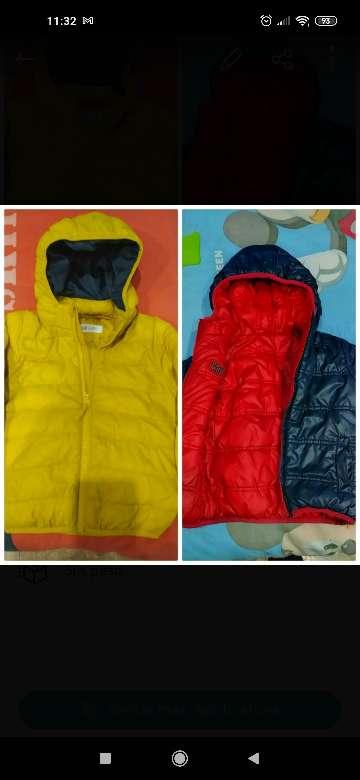 Imagen Lote 2 chaquetas niño T' 3-4 años