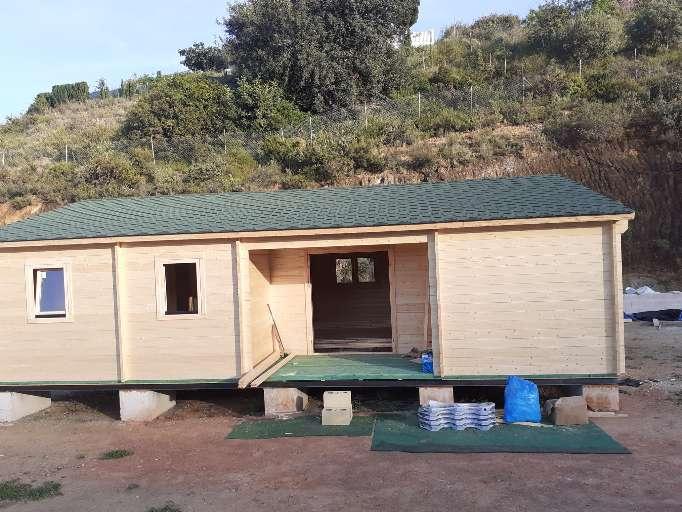 Imagen Casas de madera de 80 M2 montada