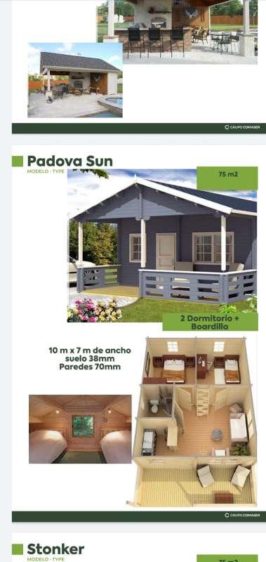 Imagen venta de casas de madera