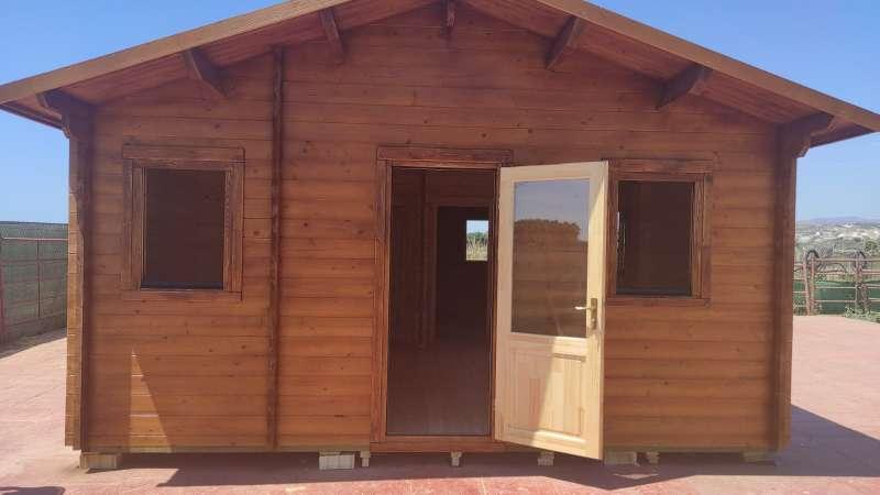 Imagen casas de madera de 60 m2
