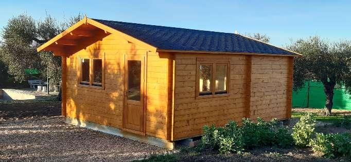 Imagen Se venden casas de madera montadas