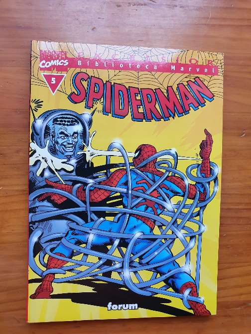 Imagen cómic juvenil Spiderman
