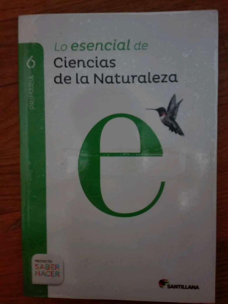 Imagen librito de ciencias naturales