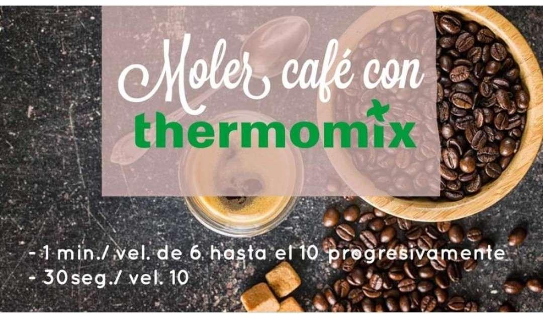 Imagen moler café con Thermomix