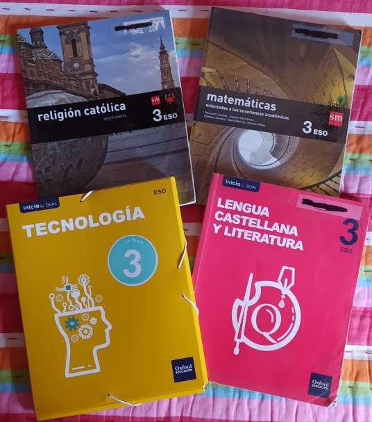 Imagen Libros 3º ESO