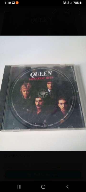 Imagen CD Queen Greatest Hits