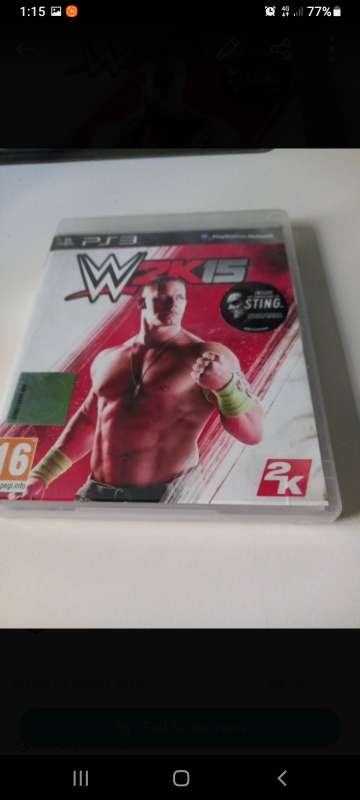 Imagen WWE 2k15 PS3