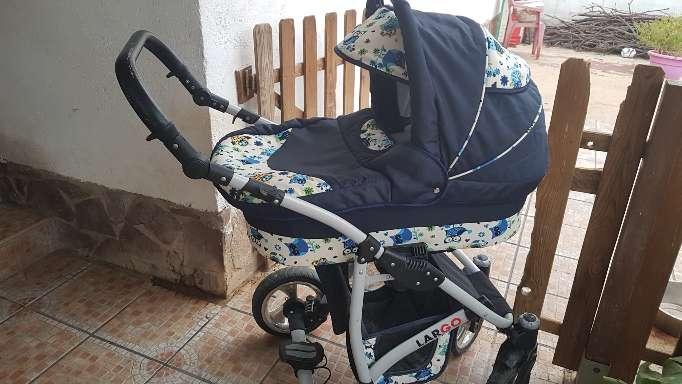 Imagen carro bebé tres piezas