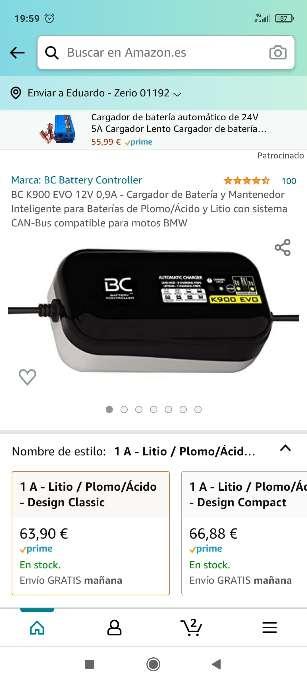 Imagen Mantenedor batería para BMW
