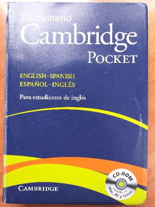 Imagen Diccionario NUEVO Inglés Cambridge Pocket con el CD-ROM