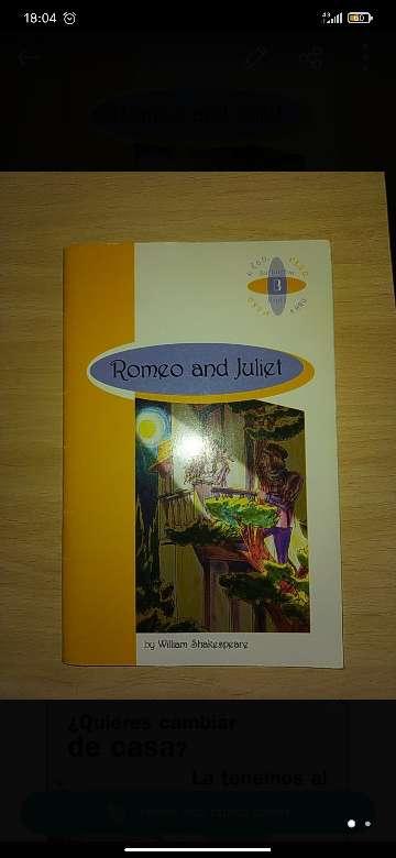 Imagen Romeo and Juliet (English)