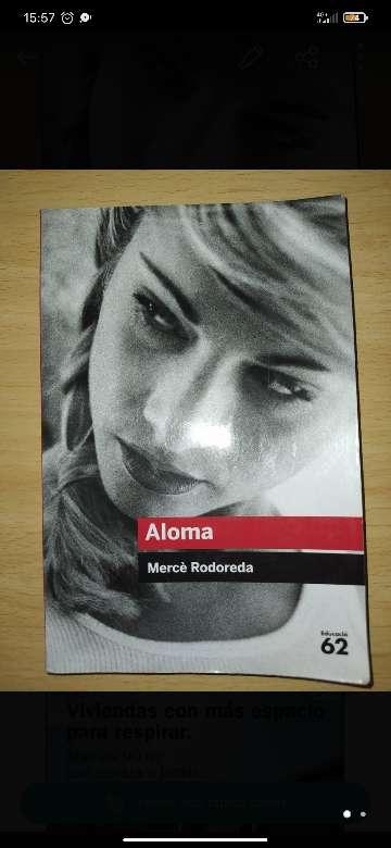 Imagen Libro de Aloma (catalán)