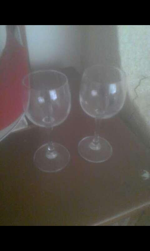 Imagen copas de cristal