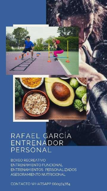 Imagen Entrenador Personal/Nutricionista Deportivo