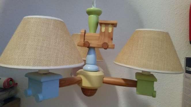 Imagen Lampara de madera