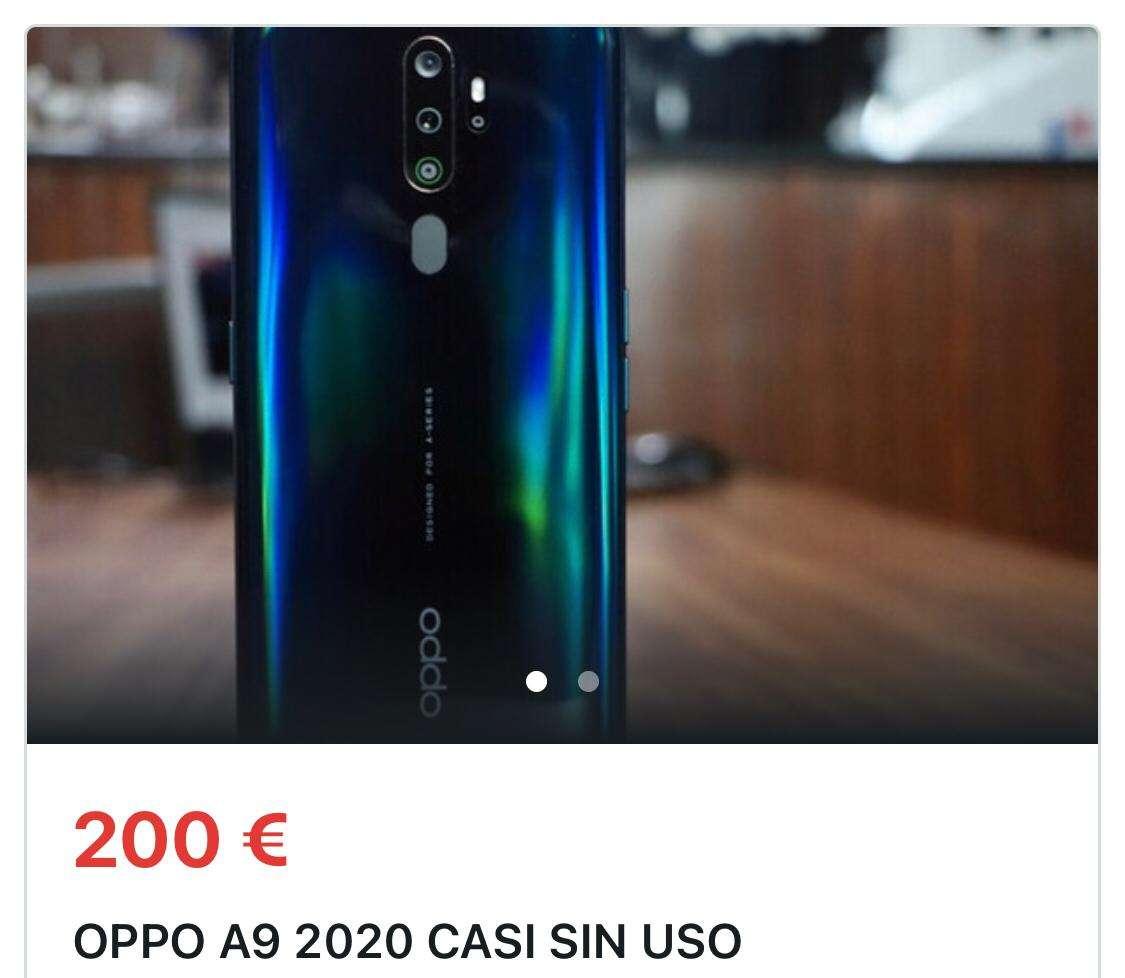 Imagen opoo A9 2020 casi sin uso