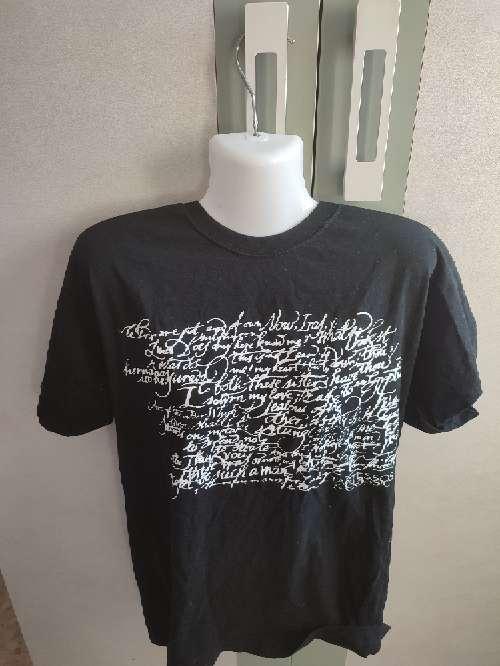 Imagen camiseta negra hombre