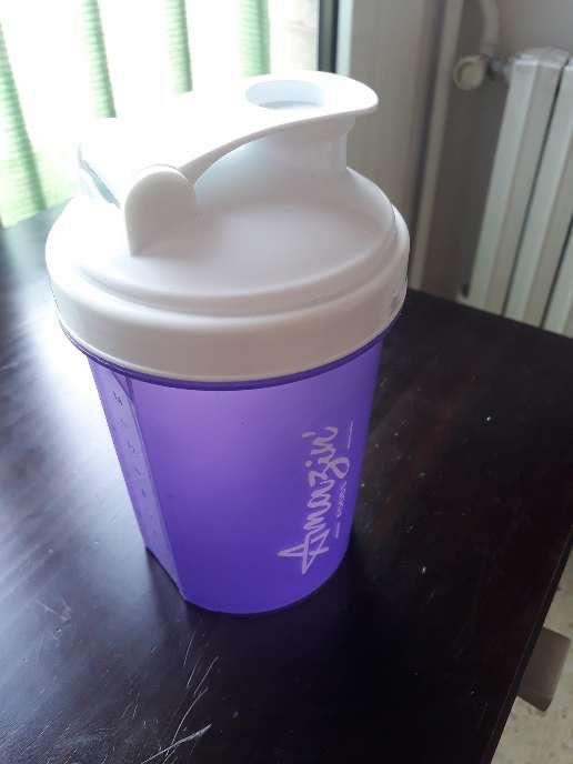 Imagen Botella para batidos con filtro 0,5 L