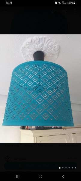 Imagen Lámpara ikea azul