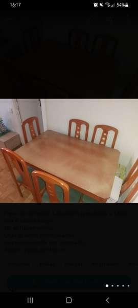 Imagen Mesa comedor 6 sillas