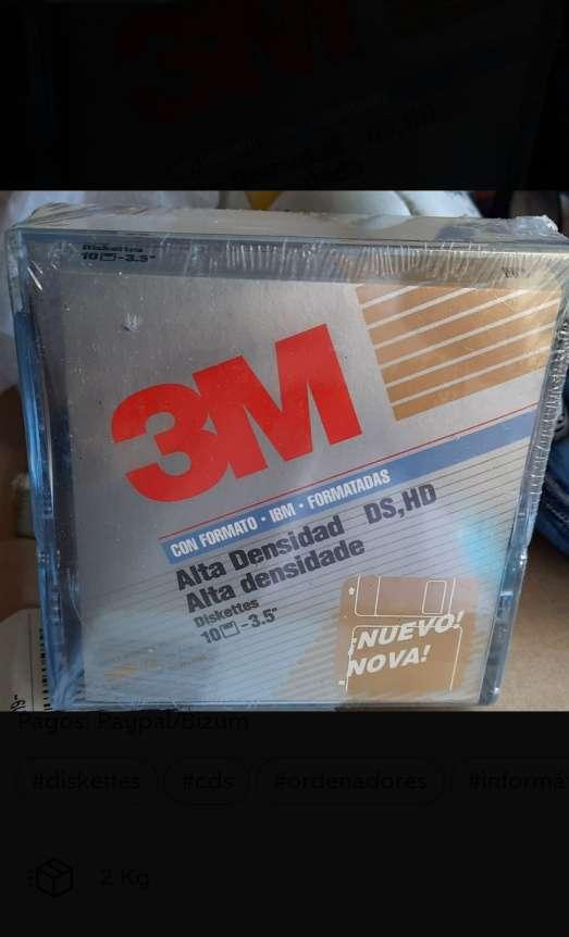 Imagen Pack de 10 disquetes