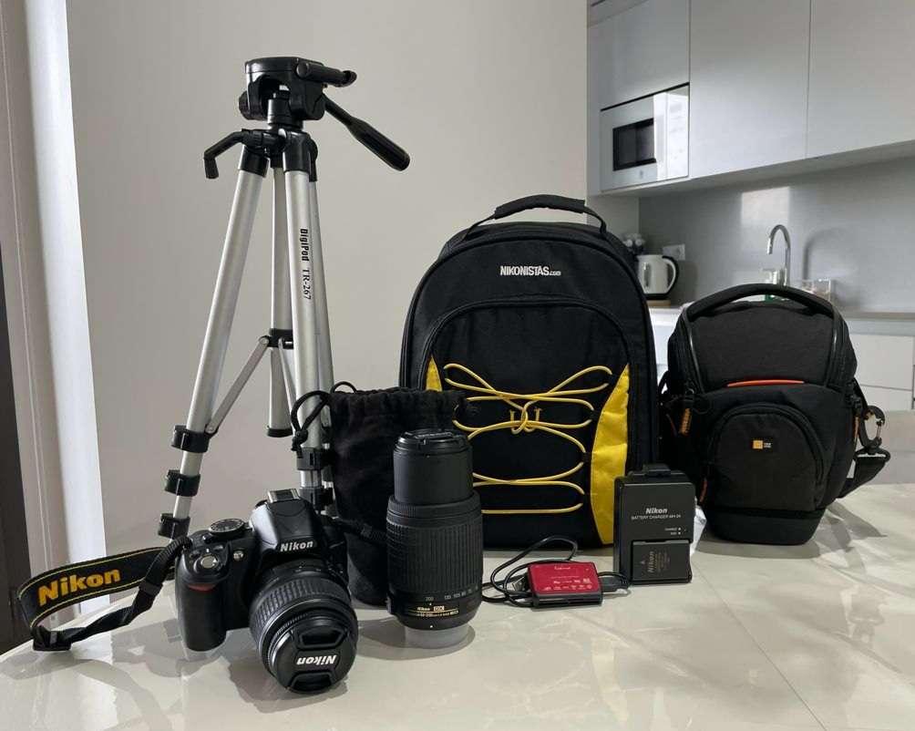 Imagen Pack Nikon D3100