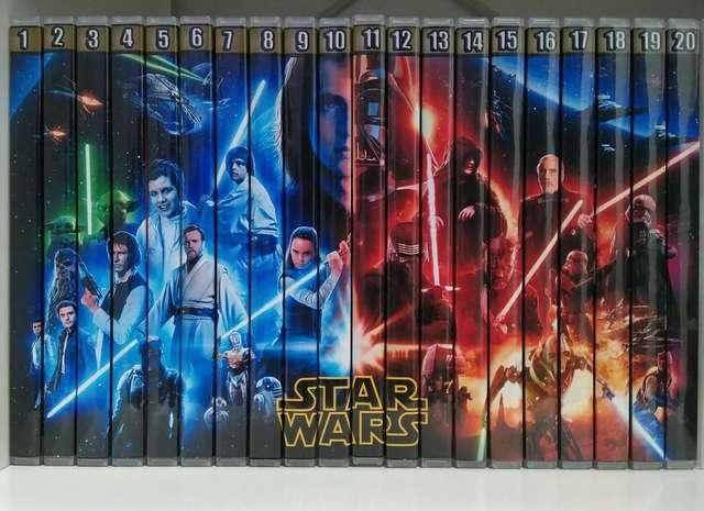 Imagen STAR WARS: - Lote exclusivo de toda la saga Starwars, the clon wars e Ewok