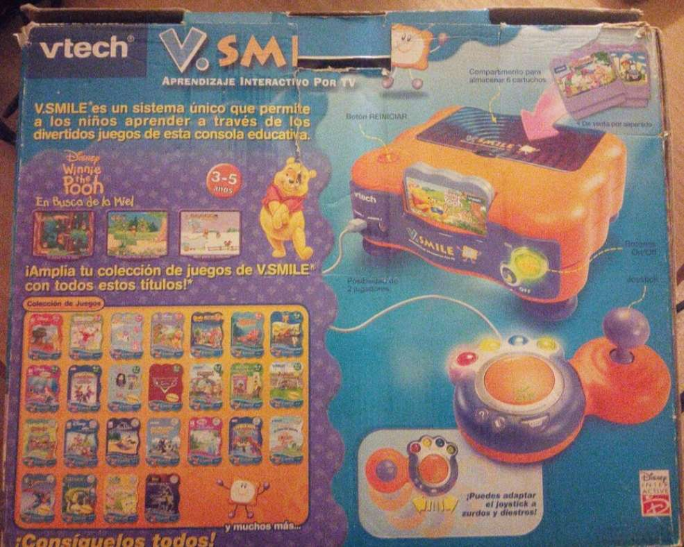 Imagen Consola V-TECH