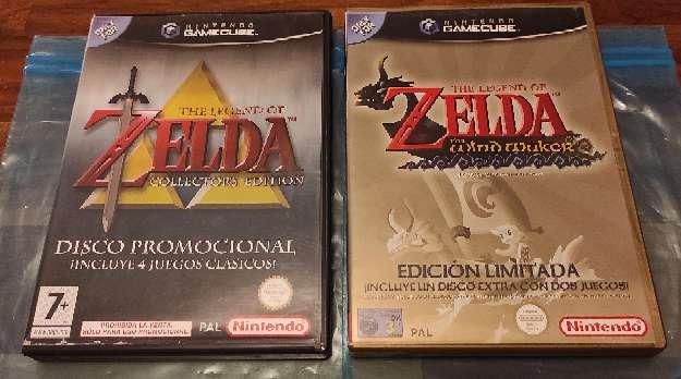 Imagen Pack Zelda Gamecube Completos y en perfecto estado