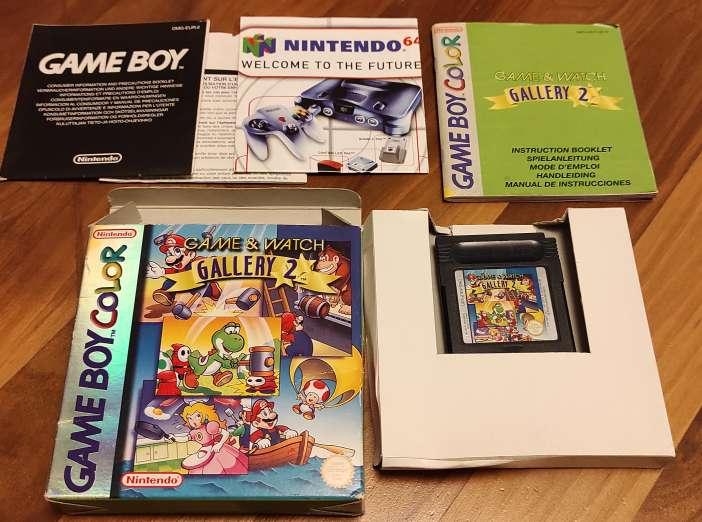 Imagen Game & Watch Gallery 2 Game boy color gbc