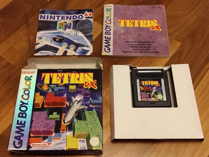 Imagen Tetris DX Game boy color Gameboy color gbc Tetris