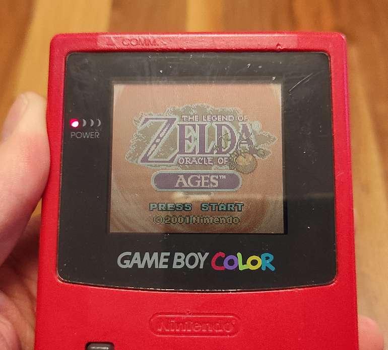 Imagen Game Boy color cartucho Zelda Vendido