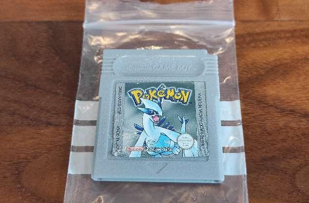 Imagen Cartucho Pokemon Plata Game boy