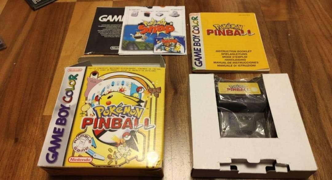 Imagen Pokémon Pinball Game boy color Gameboy gbc Perfect