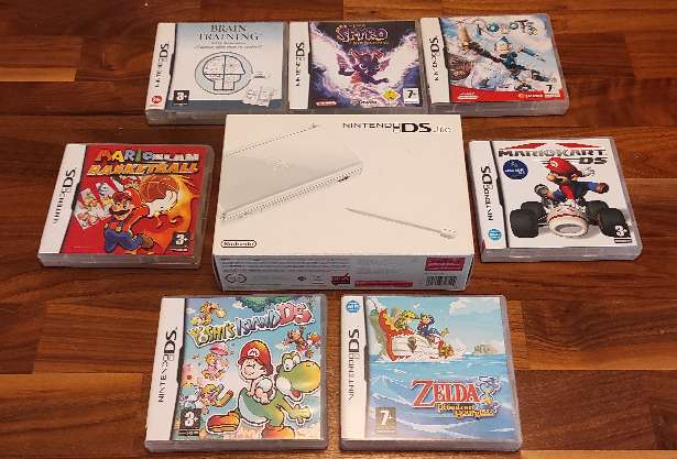 Imagen Pack Nintendo DS Zelda Mario Yoshi's Spyro
