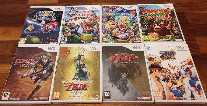 Imagen Pack Videojuegos Wii completos y en perfecto estado