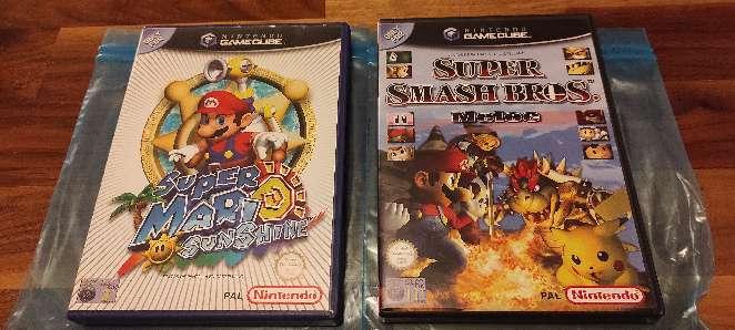 Imagen Pack de Juegos Gamecube - Super Mario Sunshine y Super Smash Bros Melee